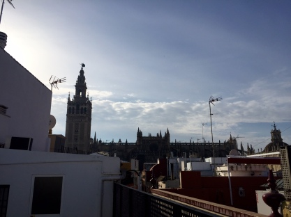 Rooftop at Alvarez Quintero Apartments