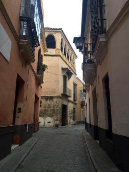 Outside of Giralda Sta Cruz