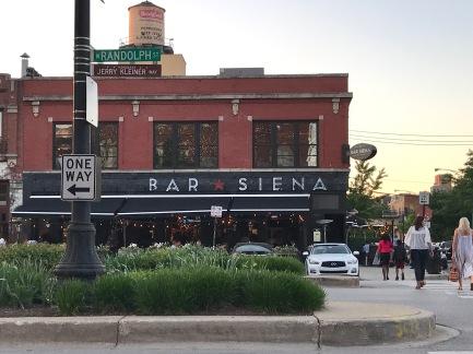 Outside of Bar Siena