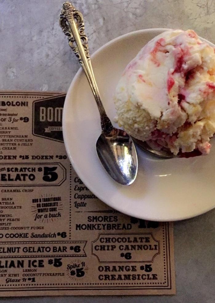 homemade gelato